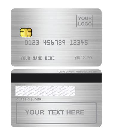 custom metal debit card