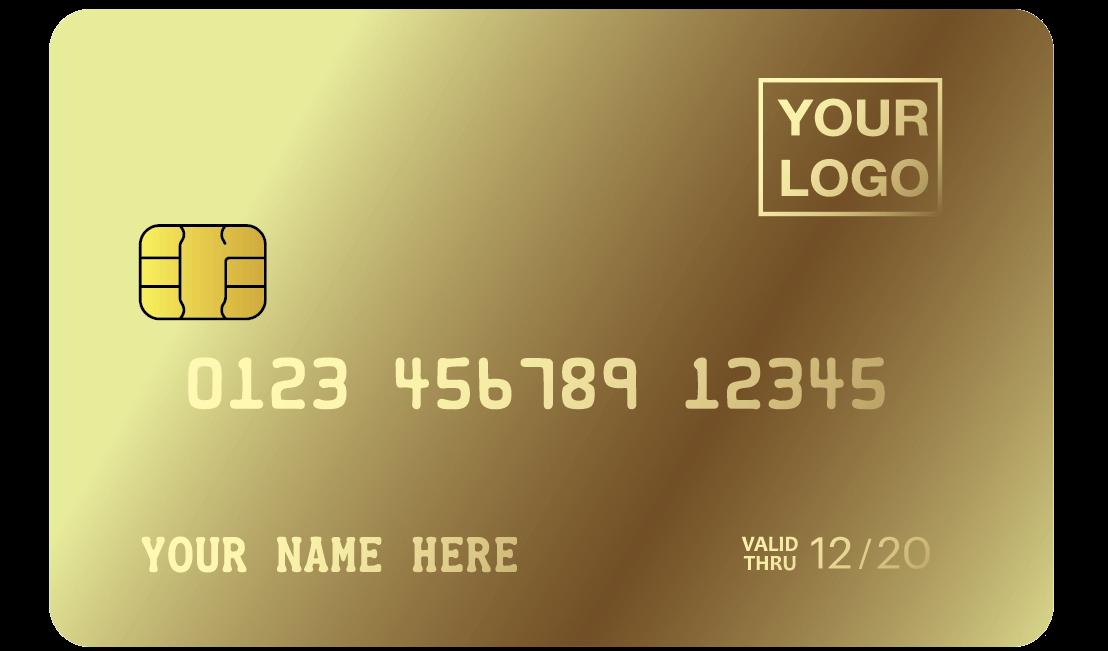 MCK - LURUXY Custom GOLD CREDIT CARD-2