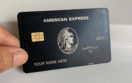amex black metal care replica
