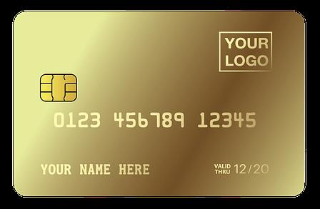 MCK- Best Custom GOLD CREDIT CARD